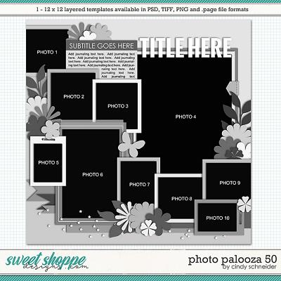 Cindy's Layered Templates - Photo Palooza 50 by Cindy Schneider