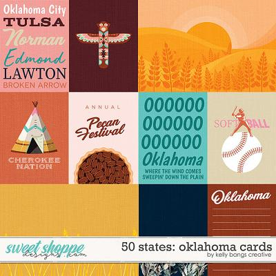 50 States: Oklahoma Cards by Kelly Bangs Creative