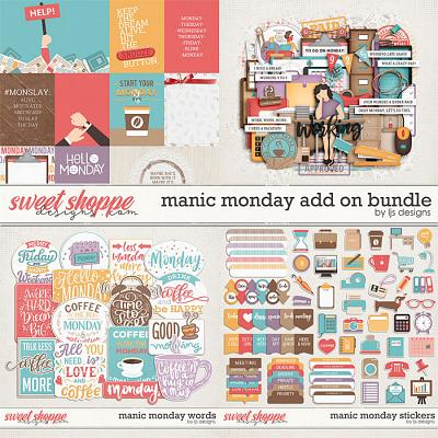 Manic Monday Add On Bundle by LJS Designs