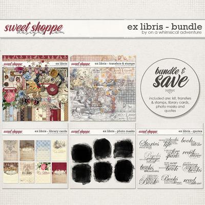 Ex Libris Bundle by On A Whimsical Adventure