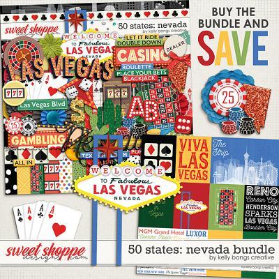 50 States: Nevada Bundle by Kelly Bangs Creative
