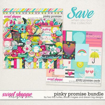 Pinky Promise Bundle by Brook Magee, Dream Big Designs & Two Tiny Turtles