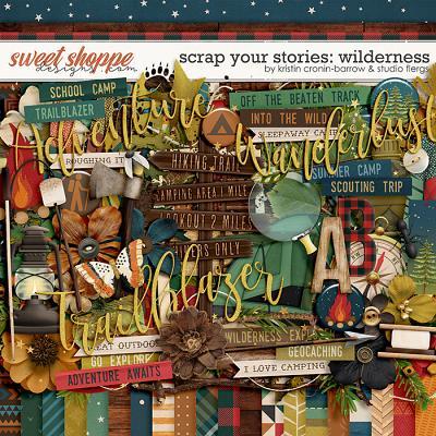 Scrap Your Stories: Wilderness by Studio Flergs & Kristin Cronin-Barrow