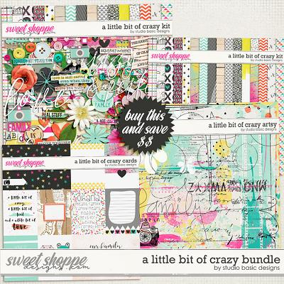 A Little Bit Of Crazy Bundle by Studio Basic