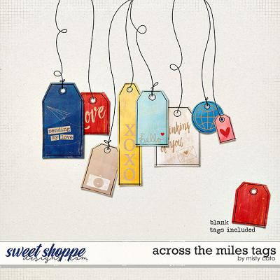 Across the Miles Tags by Misty Cato