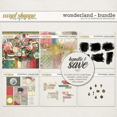 Wonderland Bundle by On A Whimsical Adventure