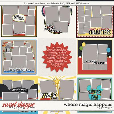 Where Magic Happens: Templates by LJS Designs