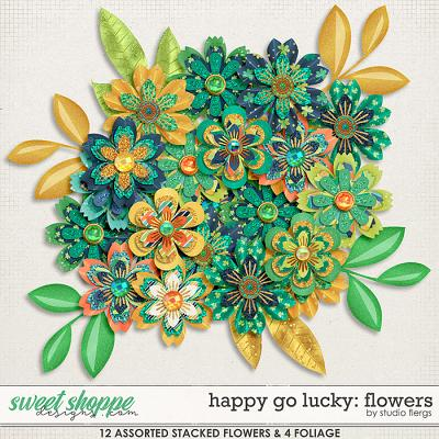 Happy Go Lucky: FLOWERS by Studio Flergs