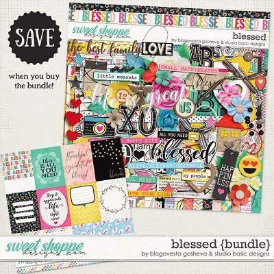 Blessed Bundle by Blagovesta Gosheva and Studio Basic