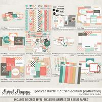 Pocket Starts: Flourish Edition Collection by Tickled Pink Studio
