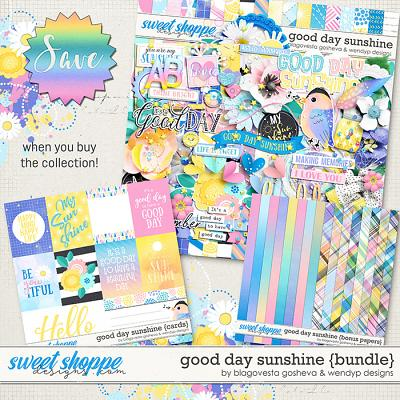 Good day Sunshine - Bundle by Blagovesta Gosheva & WendyP Designs