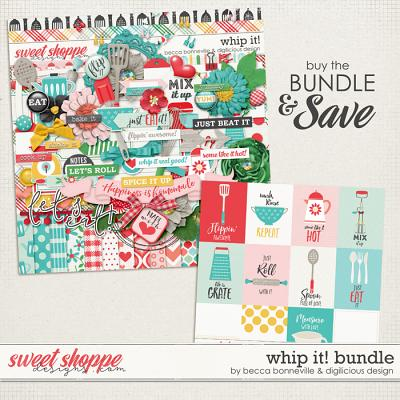 Whip It Bundle by Becca Bonneville & Digilicious Design