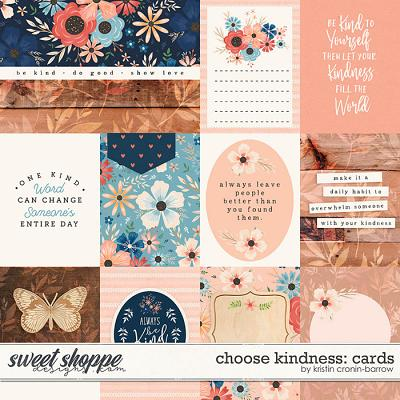 Choose Kindness: Cards by Kristin Cronin-Barrow