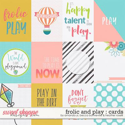 Frolic & Play Cards by Amanda Yi, Becca Bonneville and Heather Roselli