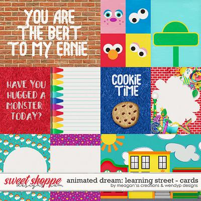 Animated Dream: Learning Street - cards by Meagan's Creations & WendyP Designs