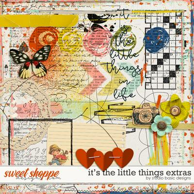 It's The Little Things Extras by Studio Basic