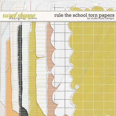 Rule The School Torn Papers by Studio Basic