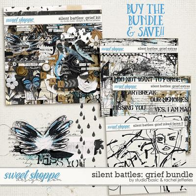 Silent Battles: Grief - Bundle by Studio Basic Designs & Rachel Jefferies