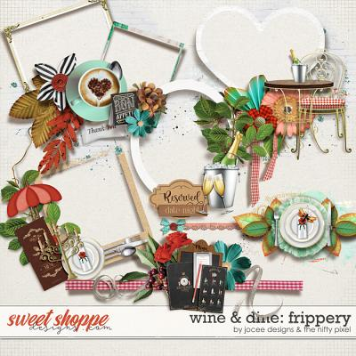 Wine and Dine Frippery by JoCee Designs and The Nifty Pixel