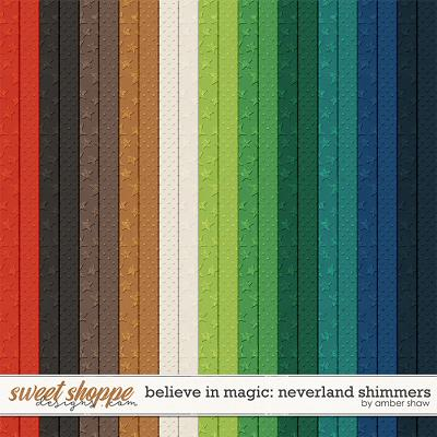 Believe in Magic: Neverland Shimmers by Amber Shaw