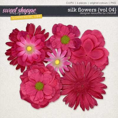 Silk Flowers {Vol 04} by Christine Mortimer