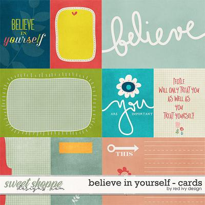 Believe In Yourself - Cards by Red Ivy Design