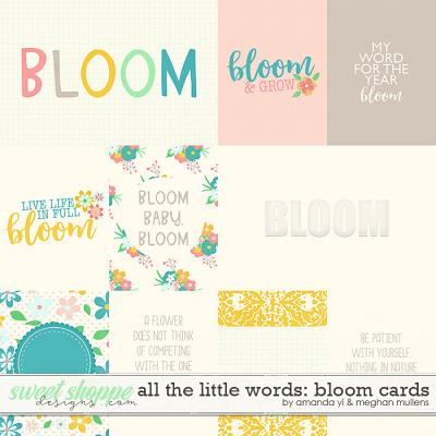 All The Little Words-Bloom Card Pack by Amanda Yi and Meghan Mullens