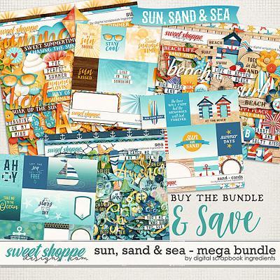 Sun, Sand & Sea Mega Bundle by Digital Scrapbook Ingredients