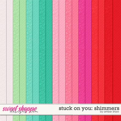 Stuck on You: Shimmers by Amber Shaw