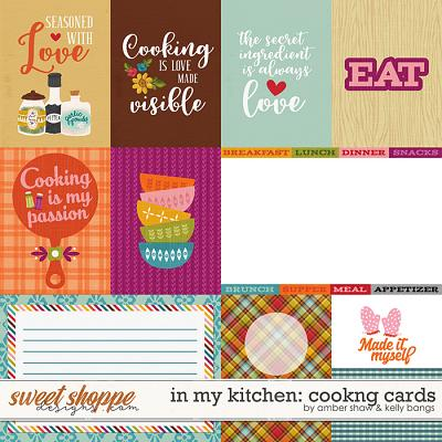 In My Kitchen: Cooking Cards by Amber Shaw and Kelly Bangs Creative
