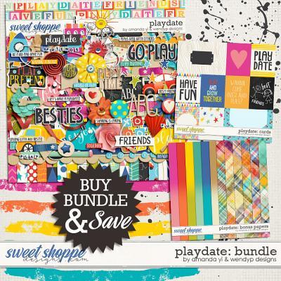 Playdate - bundle by Amanda Yi & WendyP Designs