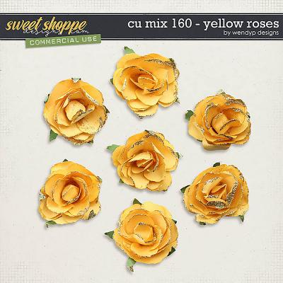 CU Mix 160 - Yellow rosess by WendyP Designs