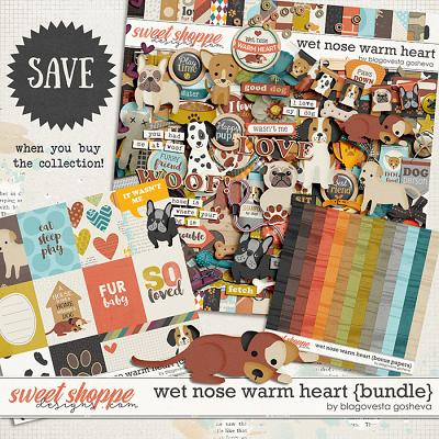 Wet nose warm heart {bundle} by Blagovesta Gosheva