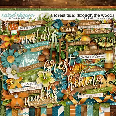 A Forest Tale: Through the Woods by Kristin Cronin-Barrow