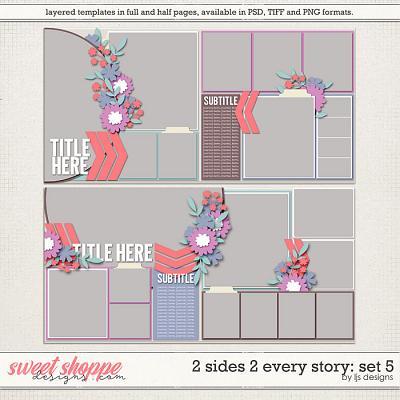 2 Sides 2 Every Story: Set 5 by LJS Designs