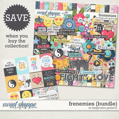 Frenemies {bundle} by Blagovesta Gosheva