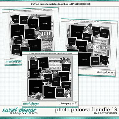 Cindy's Layered Templates - Photo Palooza Bundle 19 by Cindy Schneider