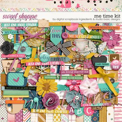 Me Time Kit by Digital Scrapbook Ingredients and Studio Basic
