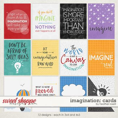Imagination: Cards by Heather Roselli