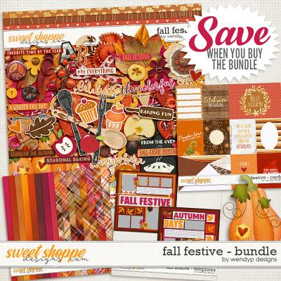 Fall Festive - Bundle by WendyP Designs