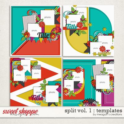 Split Vol. 1 : Templates by Meagan's Creations