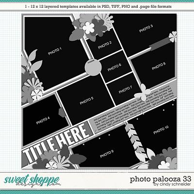 Cindy's Layered Templates - Photo Palooza 33 by Cindy Schneider