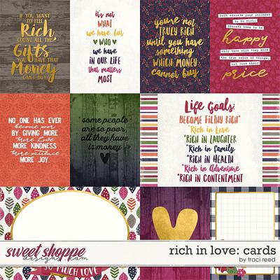 Rich In Love: Cards by Traci Reed