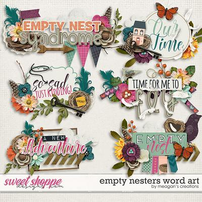Empty Nesters Word Art by Meagan's Creations