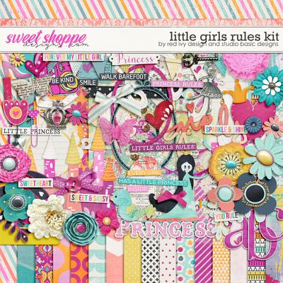 Little Girls Rules by Red Ivy Design and Studio Basic Designs