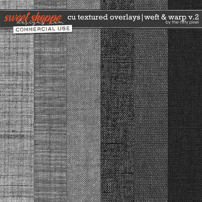CU TEXTURED OVERLAYS | WEFT & WARP V.2 by The Nifty Pixel
