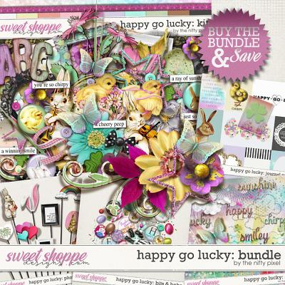 HAPPY GO LUCKY | BUNDLE by The Nifty Pixel