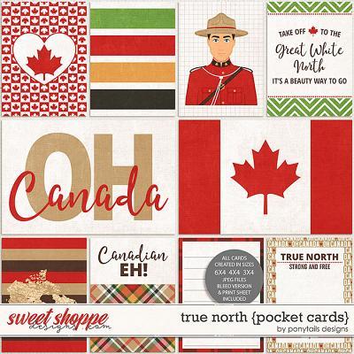 True North Pocket Cards by Ponytails