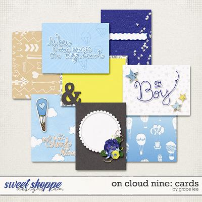 On Cloud Nine: Cards by Grace Lee