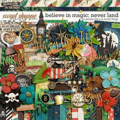 Believe in Magic: Neverland by Amber Shaw & Studio Flergs